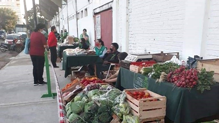 Abrió nuevamente la Feria Franca del barrio de Villa Sarita