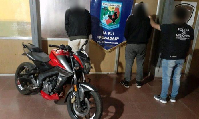 robaron una moto en Posadas