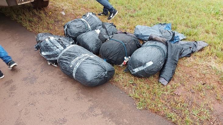 La Policía Federal y la Aduana secuestraron marihuana en Candelaria por más de 15 millones de pesos