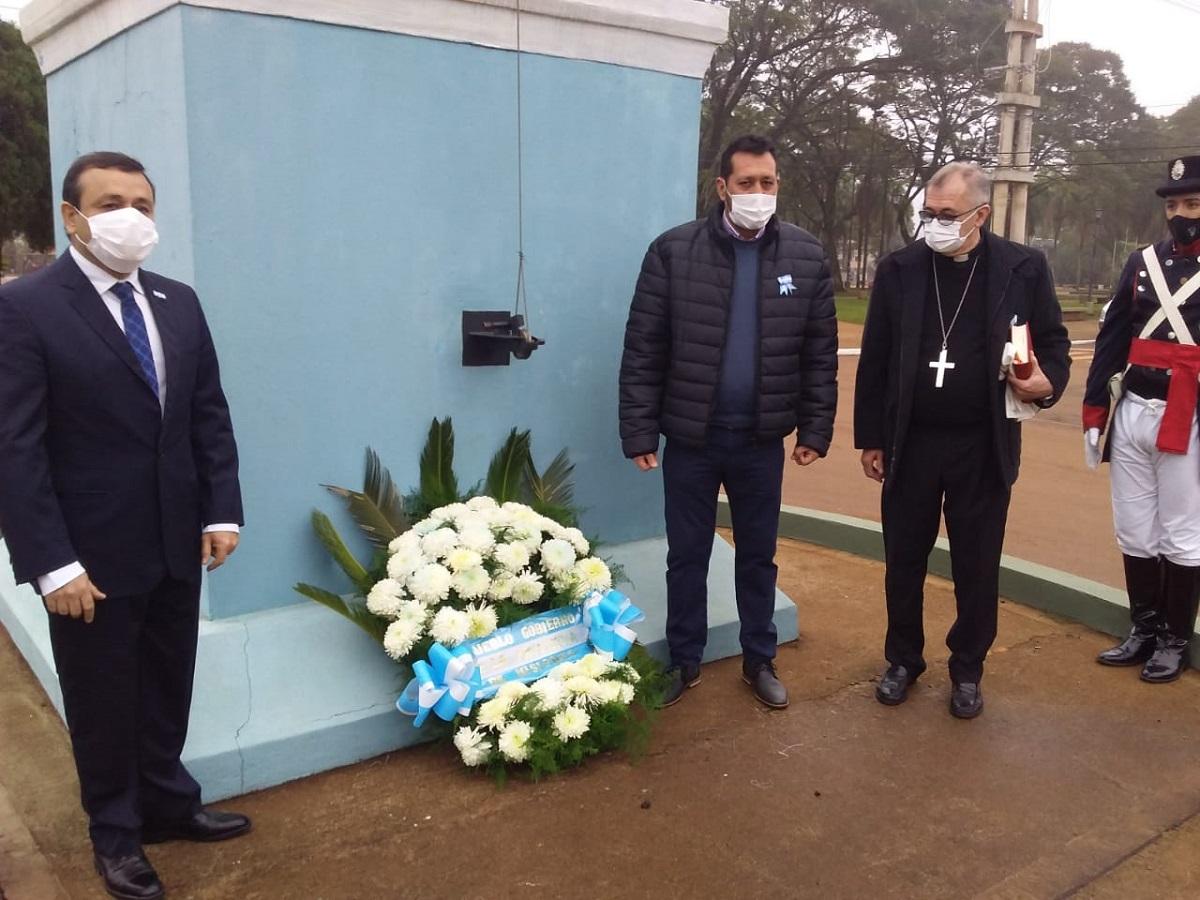 El gobernador Oscar Herrera Ahuad anunció la construcción del nuevo hospital de Candelaria