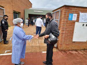 Salud Pública presente con agentes sanitarios en los centros de votación para cuidar a los misioneros