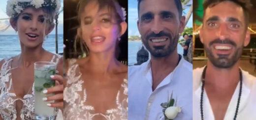 Viral en TikTok: el video de un casamiento