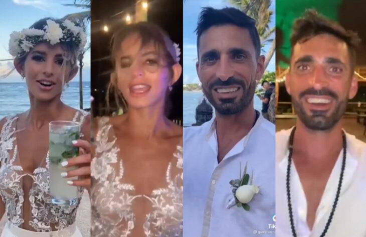 Viral en TikTok: el video de un casamiento que muestra cómo terminan la fiesta los invitados