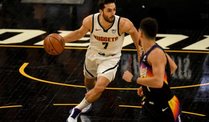 NBA: el equipo de Facundo Campazzo, Denver Nuggets, perdió 123 – 98 ante Phoenix Suns en el juego 2
