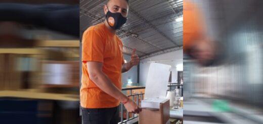 """#MisionesElige: """"Estoy feliz de poder ejercer mi derecho al voto como candidato a concejal de Posadas"""", dijo Lucas """"Chocho"""" Goméz"""