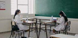 regreso de las clases presenciales en Buenos Aires