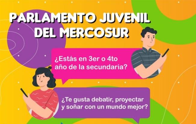 Se realizó el lanzamiento de la XII edición del Parlamento Juvenil del Mercosur