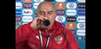 La burla del entrenador de Rusia por el gesto de Cristiano Ronaldo que se hizo viral