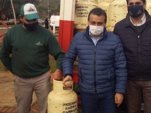 """Para disminuir asimetrías en municipios fronterizos con Brasil, Herrera Ahuad anunció el Ahora Gas diferenciado, """"que lo resolveremos con recursos propios"""""""