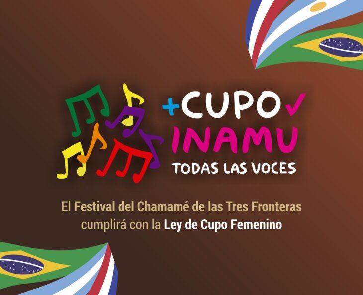 El Festival del Chamamé de las Tres Fronteras cumplirá con la Ley de Cupo Femenino