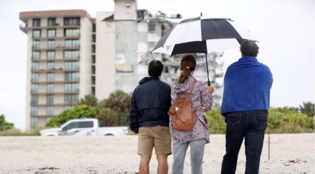 Derrumbe en Miami: cinco familiares de la primera dama paraguaya están entre los desaparecidos