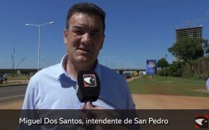 El intendente de San Pedro, Miguel Dos Santos, contó que tiene coronavirus