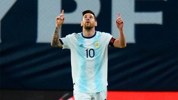 Con el hit de Los Palmeras, Messi recibió un video especial por su cumpleaños