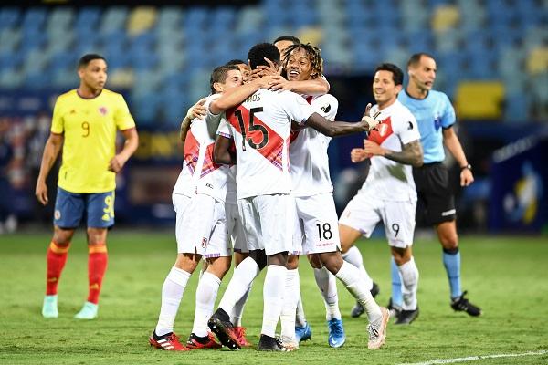 Copa América: Perú sorprendió a Colombia y logró su primer triunfo