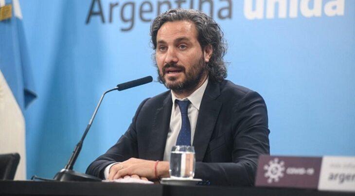 Santiago Cafiero se reunió con los jefes de Gabinete de Larreta y Kicillof para definir las restricciones en AMBA