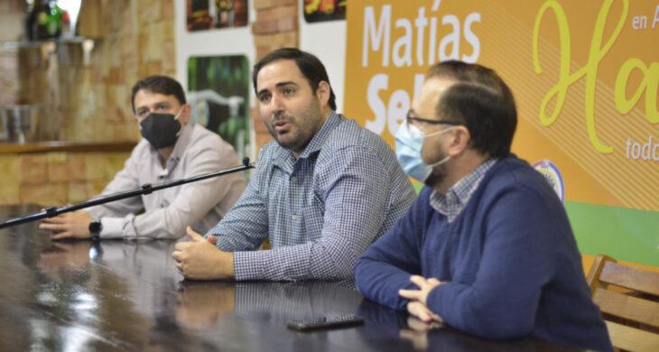 Matías Sebely cerró la campaña con el sublema Ciudad Emprendedora