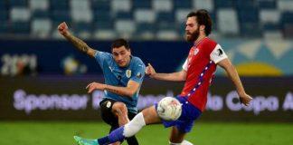 Uruguay y Chile empataron