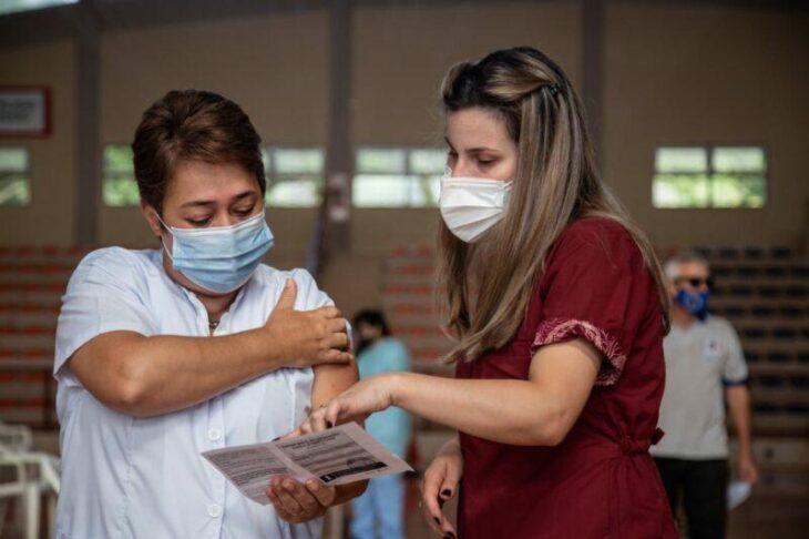 Avanza la campaña de vacunación contra el coronavirus en Misiones con las segundas dosis de Sputnik, AstraZeneca y Sinopharm