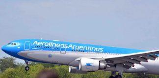 vuelo de Aerolíneas Argentinas a Beijing