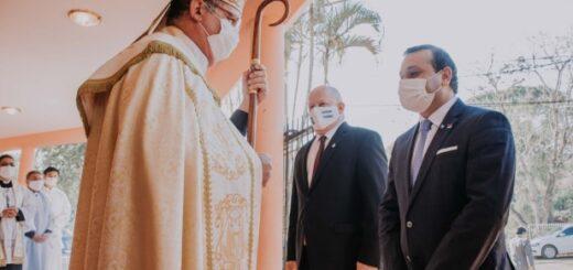Autoridades provinciales participaron en el tedeum del 9 de Julio en Puerto Iguazú