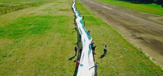 bandera argentina más larga de Misiones