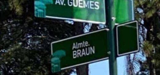 carteles de calles y avenidas