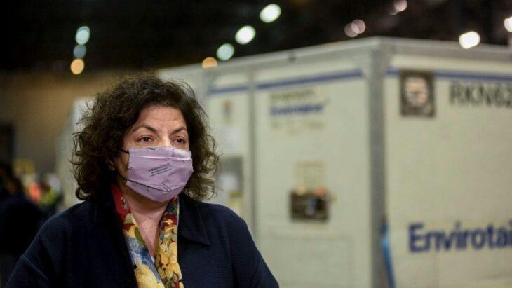 Carla Vizzotti, ministra de Salud: «A diferencia de otros países, la Argentina confía mucho en las vacunas»