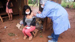 Covid: preocupa el bajo nivel de vacunación en Pozo Azul ocasionado por mensajes anti vacunas y desinformación