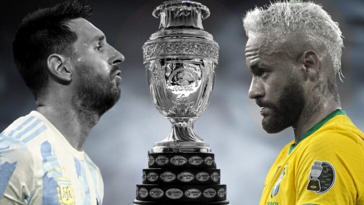 Argentina se enfrenta con Brasil en una final histórica de la Copa América