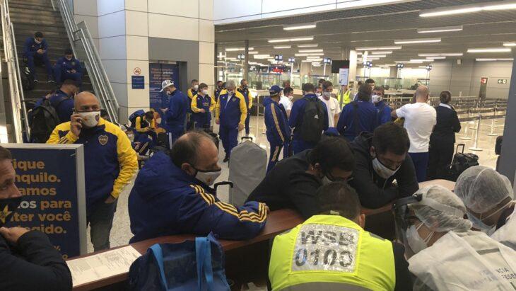 Copa Libertadores | Serios incidentes en Brasil con jugadores de Boca, gases lacrimógenos y amenazas de detención