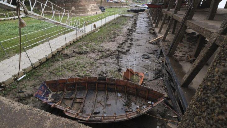 Bajante del río Paraná   Lleva 730 días y estiman que continuará hasta fines de 2021