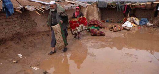 inundaciones en Afganistán