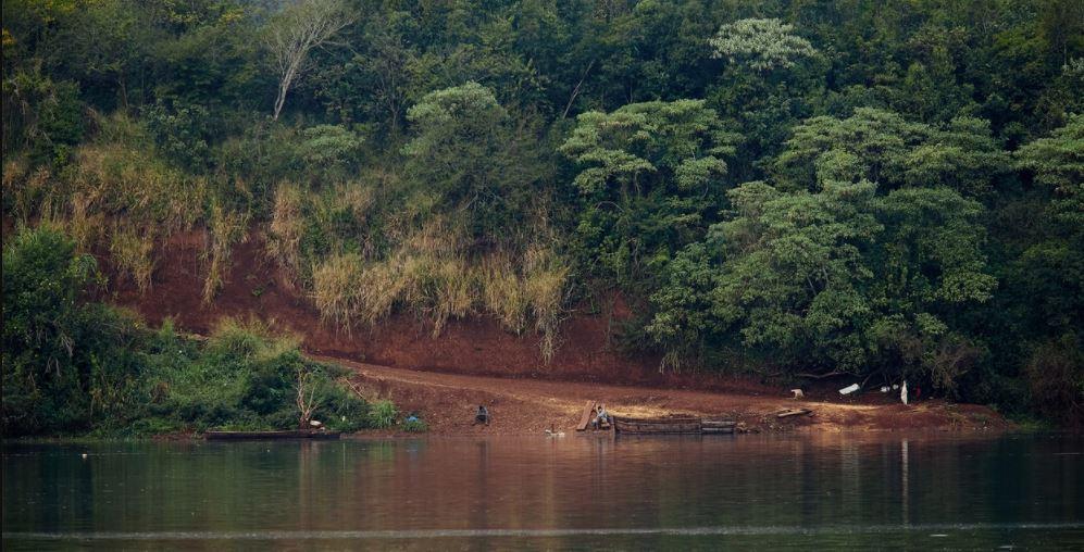 contrabando de soja en la frontera con el Brasil