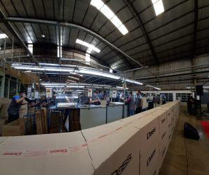Grupo Dass Argentina en Eldorado puso en marcha 2 líneas de producción de zapatillas Nike, generando 80 nuevos puestos de trabajo