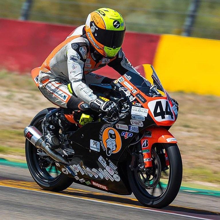 Tragedia en el motociclismo | Murió el piloto Hugo Millán de 14 años luego de un grave accidente