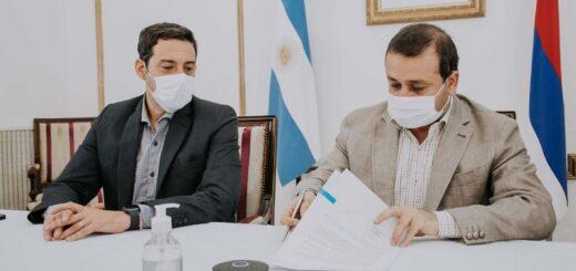 El gobierno de Misiones y la Nación, firmaron un convenio para fortalecer la seguridad fronteriza