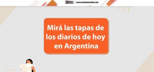 los diarios de hoy en Argentina