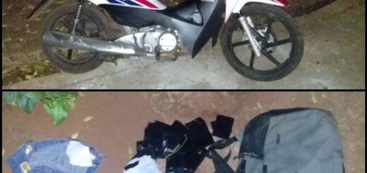 robo de una motocicleta