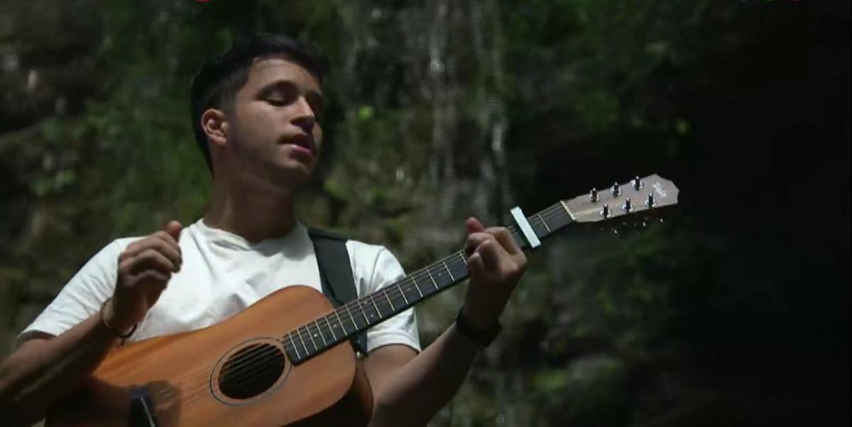 """""""Estoy emocionado por el cariño de la gente"""", comentó Nicolás Olmedo, el misionero que brilló en La Voz Argentina"""