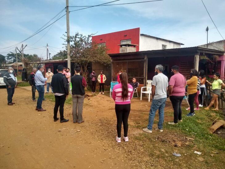La Defensoría abre una instancia de diálogo con los vecinos de la Chacra 192