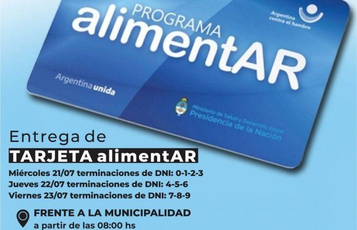 Campo Grande: entre el 21 y el 23 de julio se entregarán las tarjetas alimentarias