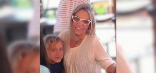 una mujer y su hijo de 6 años