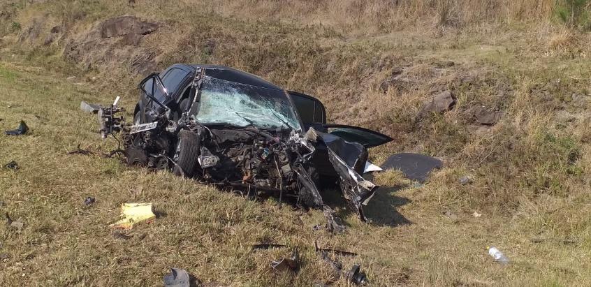 Cerro Azul: brutal choque entre un camionero y un automovilista que conducía en estado de ebriedad