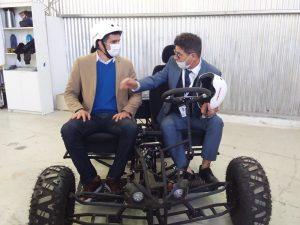 La Agencia Tributaria Misiones utilizará autos eléctricos fabricados en Hamelbot
