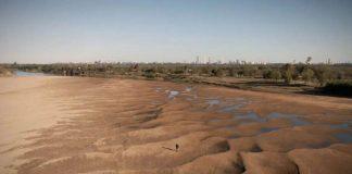 Bajante histórica del río Paraná