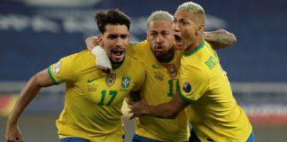 Brasil eliminó a Chile
