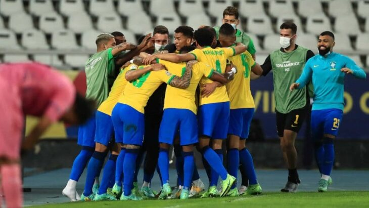 Brasil superó 1-0 a Perú y es el primer finalista de la Copa América