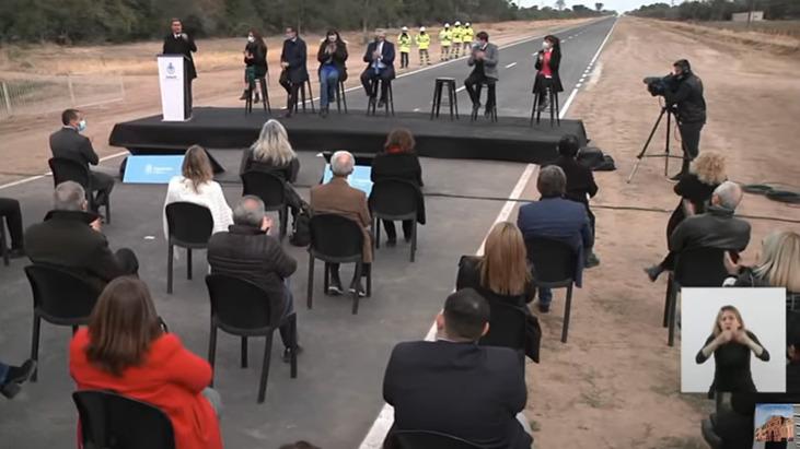 """Alberto Fernández en Chaco: """"Está a pocos metros la salida de la pandemia"""""""
