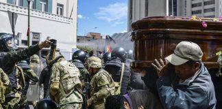 contrabando de armamento a Bolivia