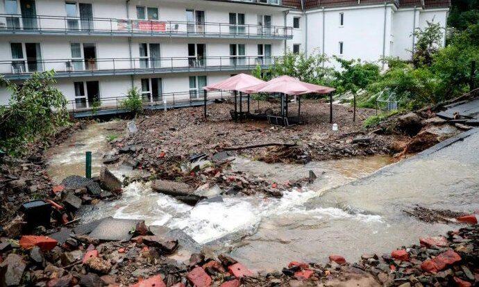 Aprueban las primeras ayudas económicas por las inundaciones en Alemania